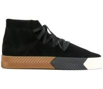 'Skate' High-Top-Sneakers aus Wildleder