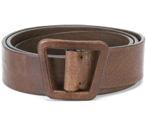 asymmetric belt