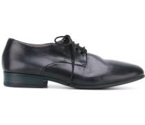 Derby-Schuhe mit Schichtabsatz