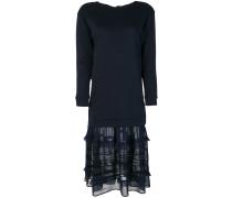 P.A.R.O.S.H. Kleid mit semi-transparentem Saum