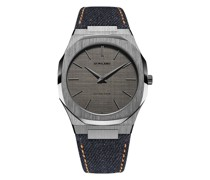 Denim Ultra Thin Armbanduhr, 40mm