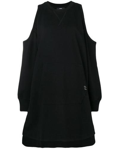 'D-Ema' Schulterfreies Kleid