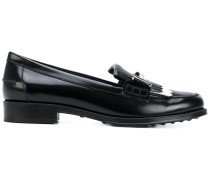 Loafer mit Metallic-Schild