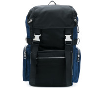 panelled backpack