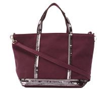 'Cabas' Handtasche mit Pailletten