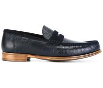Loafer mit Wildleder-Einsatz