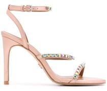 'Portia' Sandalen mit Kristallen