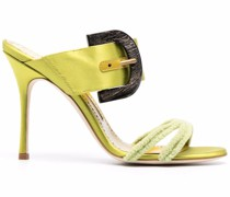 Mittelhohe Sandalen mit Schnalle
