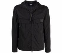 Chrome hooded jacket