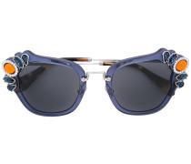 - Sonnenbrille mit Schmucksteinen - women