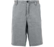 grey deck shorts - men - Leinen/Flachs - 50