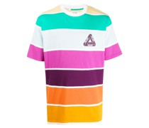 T-Shirt mit breiten Streifen