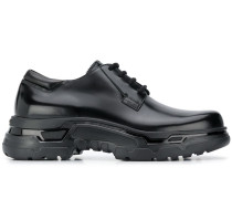 lace-up chunky sole shoes