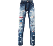 'All I Need' Jeans in Distressed-Optik