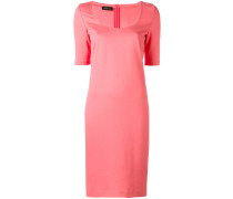 Kleid mit rundem Ausschnitt