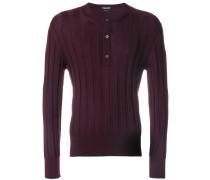ribbed thin knit jumper