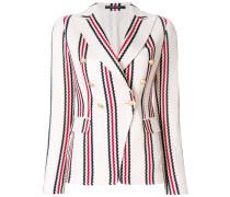 striped blazer