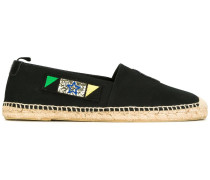 Espadrilles mit Patches