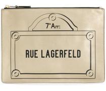 Rue Lagerfeld clutch bag