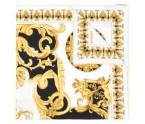 Seidenschal mit Barock-Print