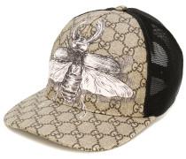 insect print GG Supreme baseball hat