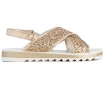 glitter sandals - kids