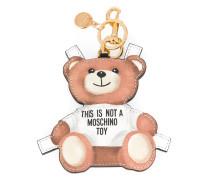 Schlüsselring mit Teddybär-Anhänger