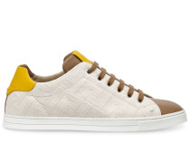 Sneakers mit FF-Muster