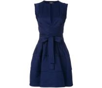 wrap-around mini dress