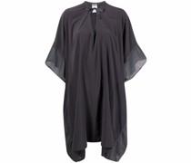 Tunika-Kleid mit Gaze-Einsatz