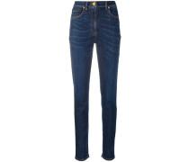 Skinny-Jeans mit Medusa