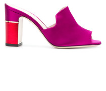 colour-block mules