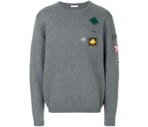 Pullover mit Patches