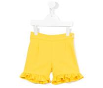 Shorts mit Rüschen - kids - Baumwolle/Polyester