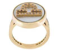 'Libra Lucky Zodiac' ring