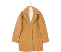 Teen Penelope faux sheerling coat