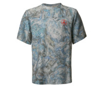 T-Shirt mit Batik-Effekt