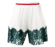 Shorts mit Spitzensaum - women
