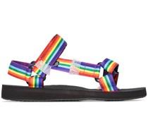 'Rainbow Trekky' Sandalen