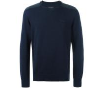 Pullover mit Schultereinsätzen
