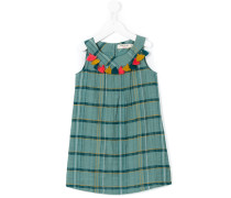 Kleid mit Quasten - kids - Baumwolle - 12 J.
