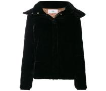 velvet padded jacket