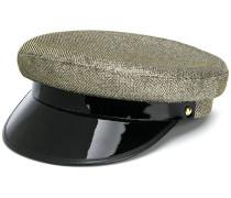 Hut mit Metallic-Effekt