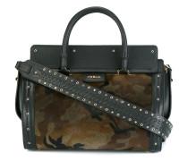 Mittelgroße Handtasche mit Camouflage-Print