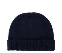 Mütze mit geripptem Saum