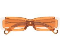 Eckige Les Lunettes 97 Sonnenbrille