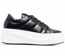 Gesteppte Flatform-Sneakers