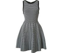 Kariertes Kleid - women - Nylon/Viskose - M