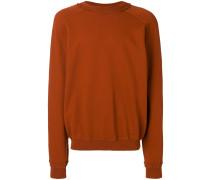 distressed neckline sweater