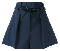 - pleated shorts - women